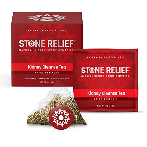 Chanca Piedra Kidney Cleanse Herbal Tea (Extra Strength) [Stone Breaker + Dandelion Root + Real Lemon] Kidney Support - Kidney Stone Dissolver - Kidney Supplement - Kidney Stone Prevention