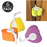 Pack of 6 Baby Kids Proofing Safety Finger Pinch Hinge And Door Guard in 3 Color