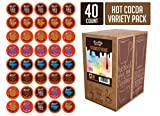 Brooklyn Bean Roastery Hot Cocoa Variety Pack Single Cup for Keurig K Cup