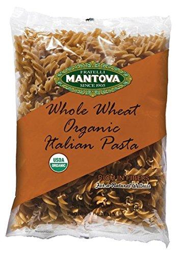 Mantova Italian Organic Whole Wheat Pasta, Fusilli, 1-Pou...