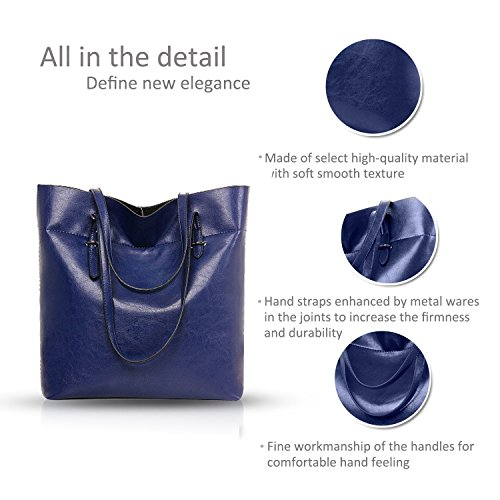 new wild capacity handbags Sapphire large amp;Doris Brown leather Nicole temperament oil fashionable women purse Hw5xq