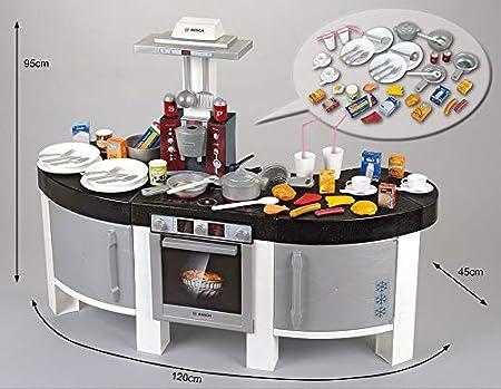 Theo Klein-9291 Bosch Cocina Vision Con 47 Accesorios, Juguete ...