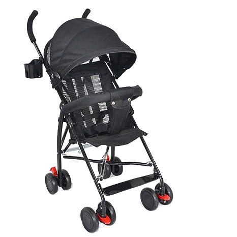 LOFAMI-Strollers Ultra Ligero Carrito de bebé Carrito ...
