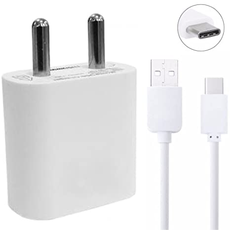ShopsGeniune 2A C Type USB Charger for Gionee S Plus  White, 1m  Cables