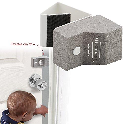 Finger Pinch Guard 4pc Amp Baby Safety Locks 4pc Premium