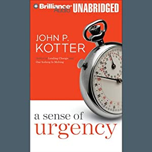 A Sense of Urgency Hörbuch