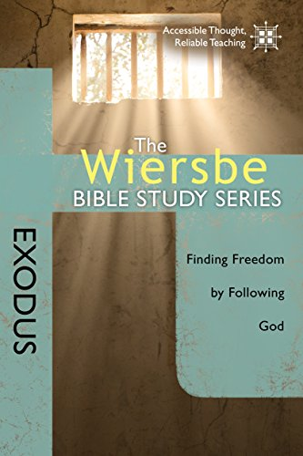 The Wiersbe Bible Study Series: Exodus: Finding Freedom by Following God cover