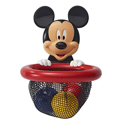 The First Years Disney Baby Shoot and Store Bath Toy, Mickey Mouse (Bath Toys Mouse Mickey)