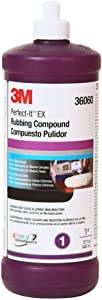 3M Perfect-It EX Rubbing Compound - 1 Quart - 36060-6PK