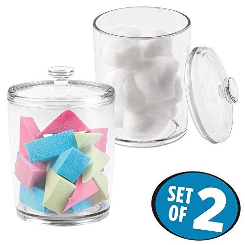 plastic bathroom jars - 6