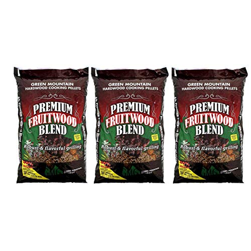Green Mountain Grills Premium Fruitwood Pure Hardwood Grilli