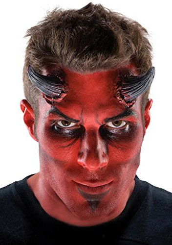 Costumes Prosthetics (Latex DEVIL Horns Adult Costume Makeup Prosthetics)