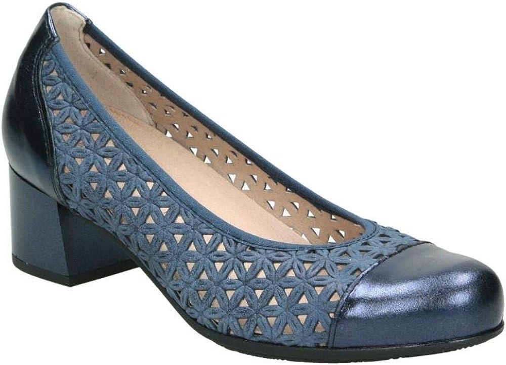 Zapatos pitillos 5541 señora Azul