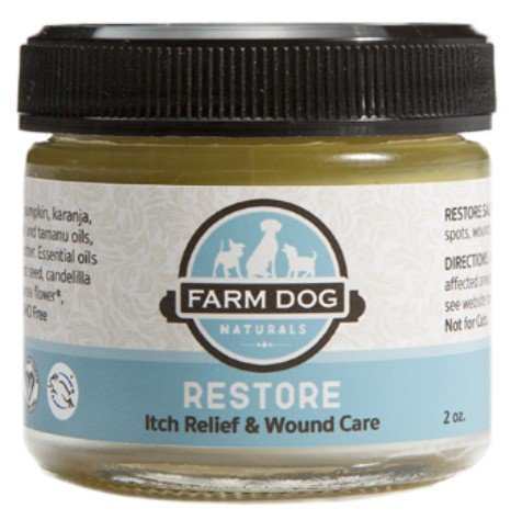 Farm Dog Naturals - Restore Wound Care and Itch Relief Salve for Dogs, 2 Ounce