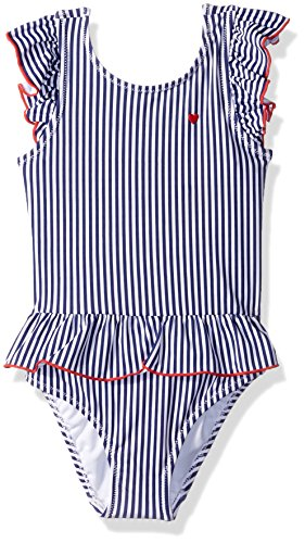 Carter's Girls' Toddler One Piece Swimsuit, Americana Stripe, 3T by Carter's