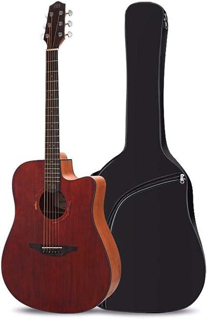 Boll-ATur Vintage de una cara de la guitarra acústica de 41 ...