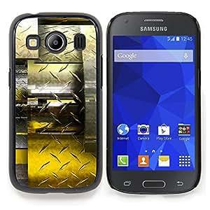 "For Samsung Galaxy Ace Style LTE/ G357 , S-type Resumen Diamante Acero"" - Arte & diseño plástico duro Fundas Cover Cubre Hard Case Cover"