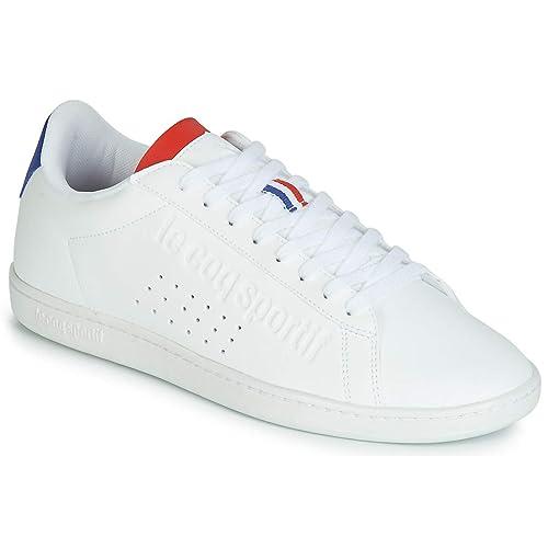 Le Coq Sportif Zapatilla Hombre Couset BBR Blanca: Amazon.es: Zapatos y complementos