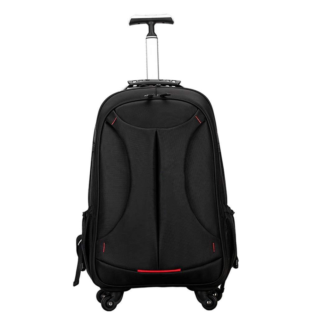 荷物スーツケース、旅行用ラップトップバッグ、男女学生用トロリーバッグ、超軽量の防水性および耐摩耗性の隠れたストラップ付きトロリー B07T7JDLSY
