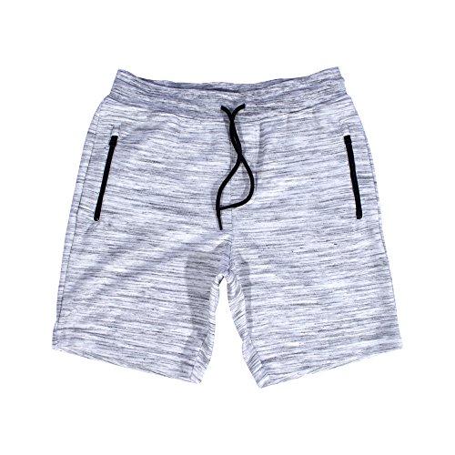 Ocean Current Mens Fleece Jogger Gym Elastic Waist (Microfiber Walkshort)