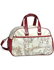 NYC Subway Line Map Gym Bag