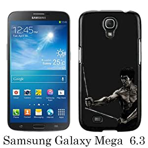 Lovely And Unique Designed Case For Samsung Galaxy Mega 6.3 I9200 With Bruce Lee Black Phone Case