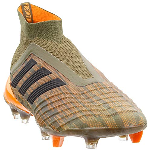 adidas Mens Predator 18+ Firm Ground Soccer Athletic Cleats, Green, 11.5 (Adidas Cleats Green)