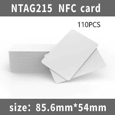 jiaxing NTAG215 Ntag-215, Tarjeta de PVC Blanca NFC 215 ...