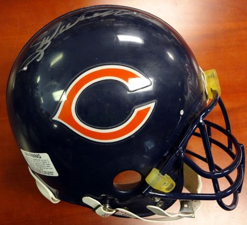 Amazon.com: Walter Payton Autographed/Hand Signed Chicago Bears Authentic Helmet Sweetness PSA/DNA #S14891: Sports Collectibles