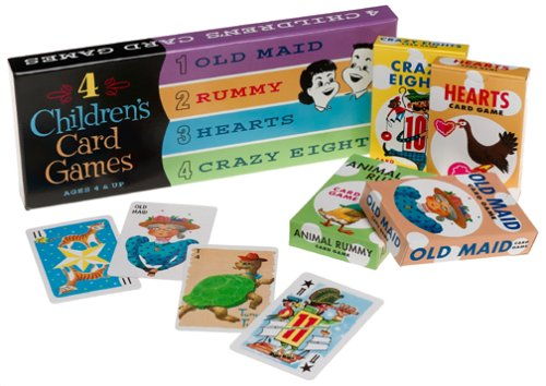 (Think Fun 4 Children's Card Games )