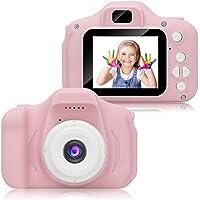 كاميرا يونسي للاطفال، كاميراتفيديو رقمية للاطفال للفتيات، هدايا أبعاب لأعياد الميلاد اعمار 4-12 عامًا، كاميرا للاطفال…
