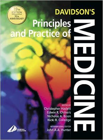 Davidsons Principles And Practice Of Medicine Ebook