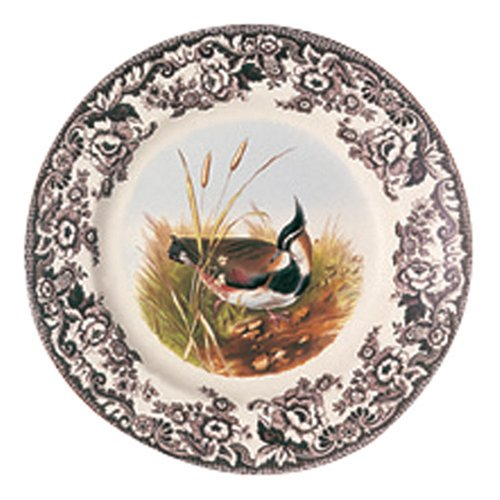 Spode Woodland Salad Plate 8 inch (LAPWING)