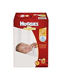 HUGGIES Little Snugglers Baby Diapers, Size Newborn, 132 ct BOBEBE Online Baby Store From New York to Miami and Los Angeles