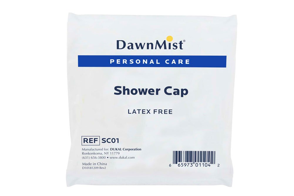 DawnMist Shower Caps, One Size, Clear, SC01 (Case of 2000) by DawnMist (Image #1)