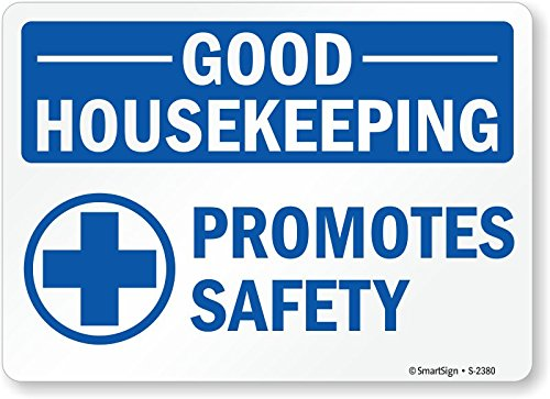 Housekeeping Signs (SmartSign by Lyle S-2380-PL-14