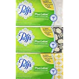 Puffs Plus Lotion Facial Tissues - 124 ct - 3 pk