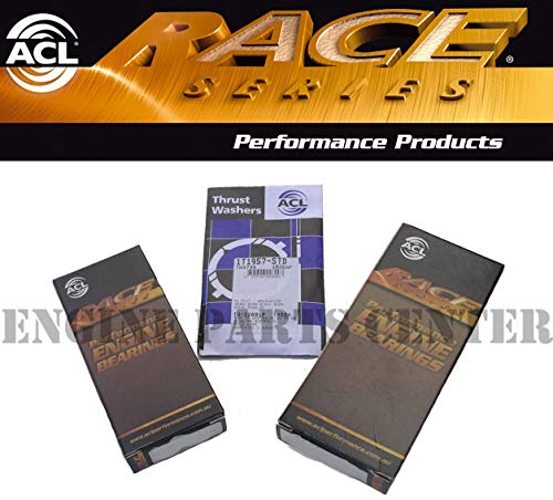 ACL Race Main & Rod Bearings & Thrust Washers compatible with 97-01 Honda Prelude 2.2L VTEC H22A4