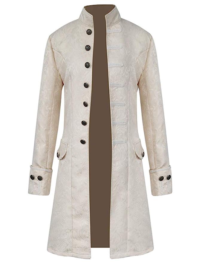 Masquerade Ball Clothing: Masks, Gowns, Tuxedos Men Vintage Tailcoat Jacket Steampunk Victorian Uniform Formal Tuxedo Frock Coat $39.99 AT vintagedancer.com