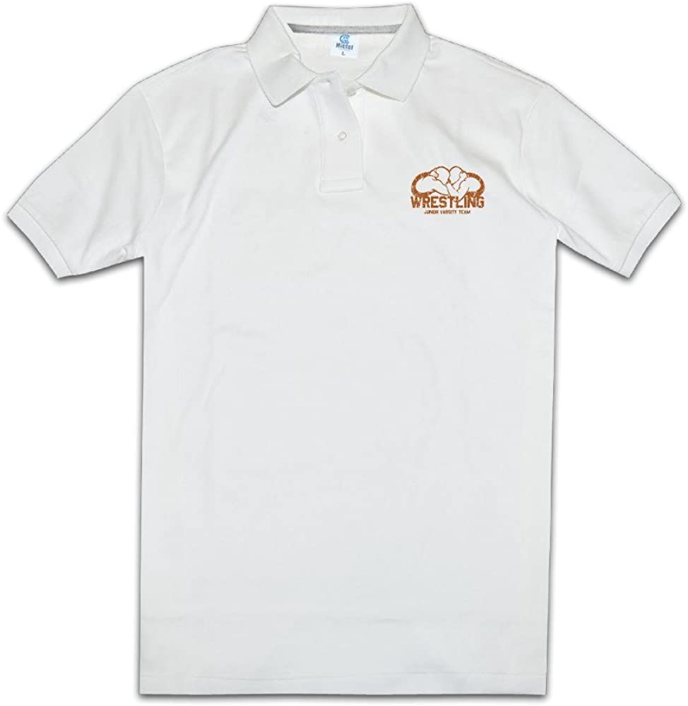 Mens Wrestling 1 Normal Fit Pique Polo