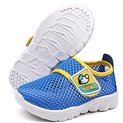 DADAWEN Breathable Mesh Running Sneakers