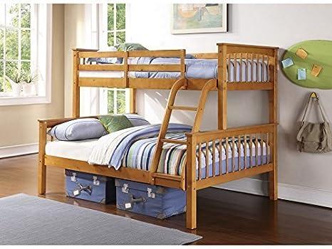 Letto A Castello Triplo Usato : Novaro letto a castello triplo in legno di pino bianco o pino