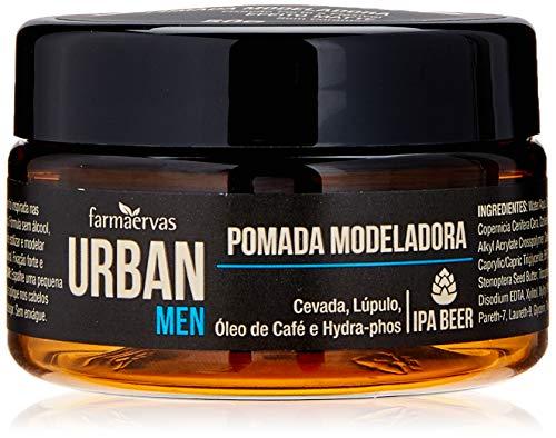 Pomada Modeladora Men Ipa, Urban, Branca Transparente, 50G