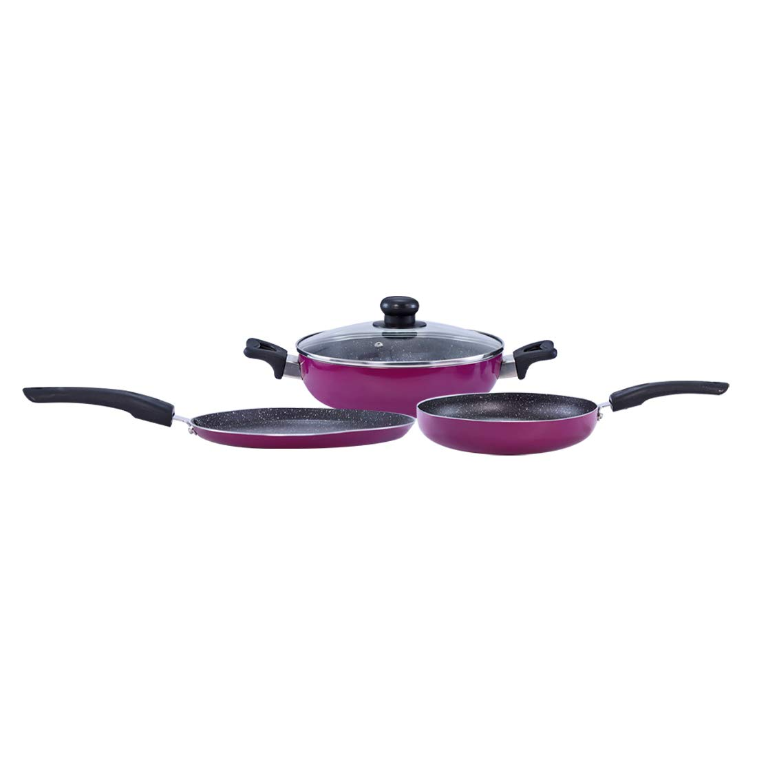 Wonderchef Trivia Premium Cookware Set of 4 Pieces