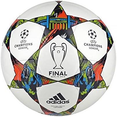 adidas Finale Berlín Capitano-Balón de fútbol, Color Blanco ...
