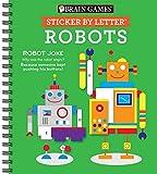Brain Games - Sticker by Letter: Robots
