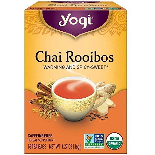 Yogi Herbal Teas, Chai Rooibos 16 ea ( pack of 2)