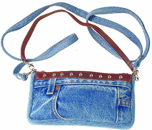 Unbekannt Women's Cross-Body Bag Blue BLUE