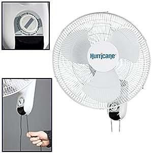 Hurricane Classic (soporte de pared oscilante ventilador (tema _ por # luxhomeliving2015it # 55162154606709