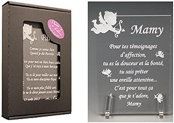 1 Poème Mamy Ange Td Cadeau Pour La Fête Des Grands Mères Noël Baptême Anniversaire De Mamie